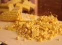 Preparing the Corn for Sa