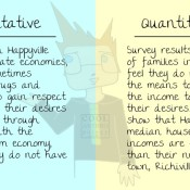Qualitative vs. Quantitative Example